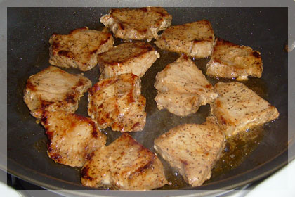 Pork Medallions with Mushrooms photo instruction 4