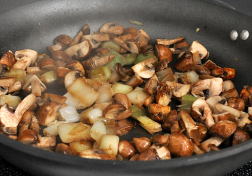 Pork with Mushrooms and Leeks photo instruction 2