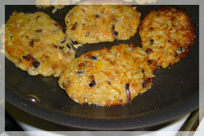 Potato Pancakes with mushrooms photo instruction 6