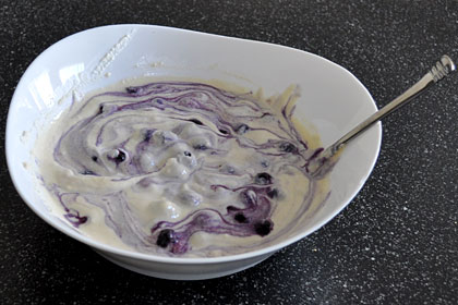 Russian Blueberry Zapekanka (Cheesecake) photo instruction 4
