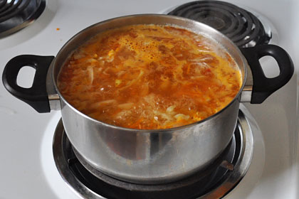 Russian Cabbage Soup Shchi photo instruction 5