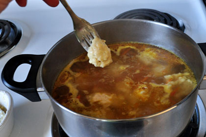 Russian Chicken and Dumpling Soup photo instruction 2