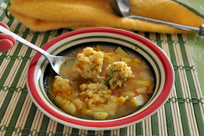 Russian Chicken and Dumpling Soup photo instruction 4