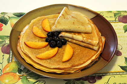 Russian Crepes (Bliny)