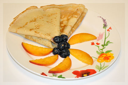 Russian Crepes (Bliny) photo instruction 5