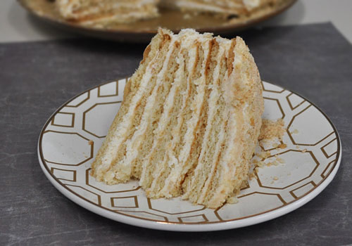 Russian Layered Cake