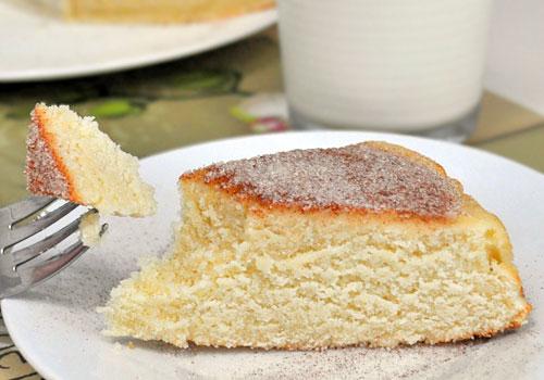 Бисквитный Молочный Пирог