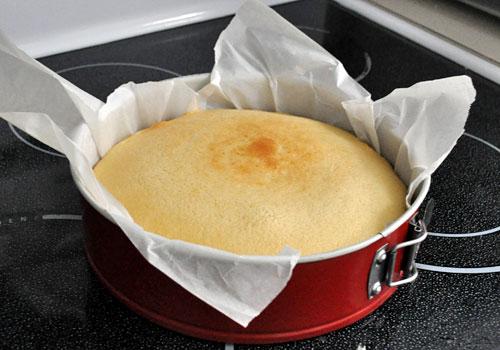 Бисквитный Молочный Пирог пошаговое фото 5