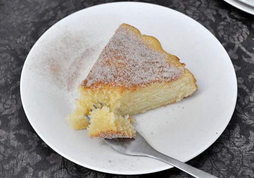 Бисквитный Молочный Пирог пошаговое фото 6