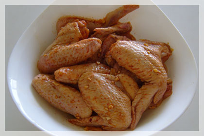 Sweet and Garlic Chicken Wings photo instruction 1
