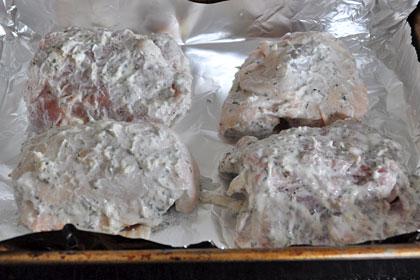 Куриные Бедрышки Маринованные в Йогурте пошаговое фото 3