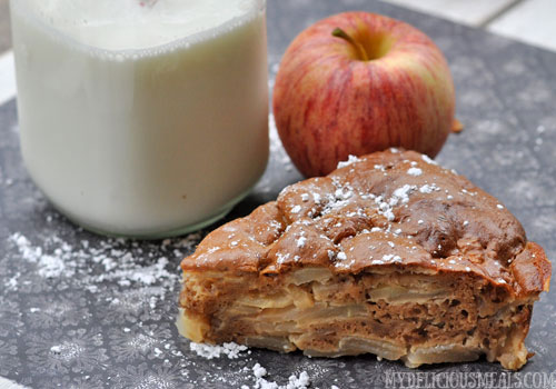 Russian Apple Sharlotka Pie