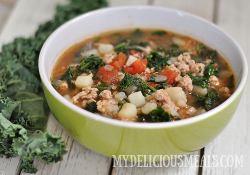 Whole30 Kale Soup