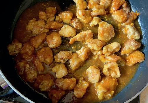 Куриные Бёдрышки в Апельсиновом Соусе по-Китайски